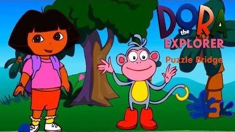 Dora The Explorer Puzzle Bridge Full HD