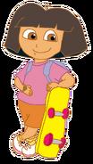Dora with Skateboard 5