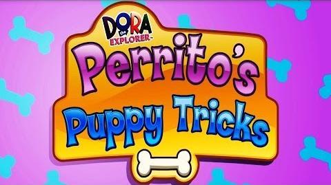 Dora The Explorer Perrito's Puppy Tricks Full HD
