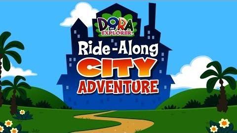 Dora The Explorer Ride-Along City Adventure Full HD