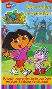 Dora Saves the Prince Spanish VHS
