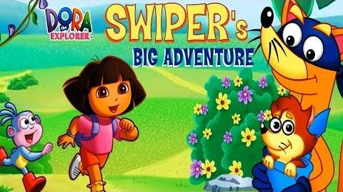 Dora The Explorer Full Swiper's Big Adventure HD