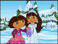 Dora the explorer dora and snow princess 324423