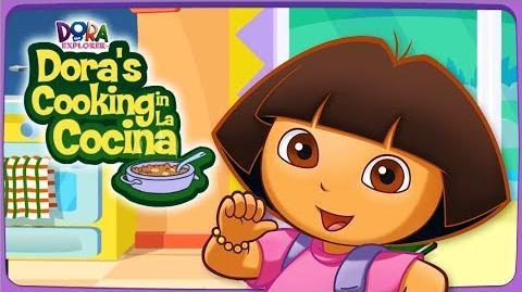 Dora The Explorer Dora's Cooking in La Cocina Full HD