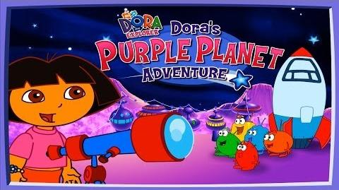Dora The Explorer Purple Planet Adventure Full HD