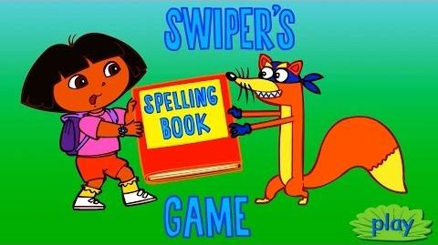 Dora The Explorer Swiper's Spelling Book Game Full HD
