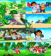 Dora the Explorer Dora in wonderland screenshot