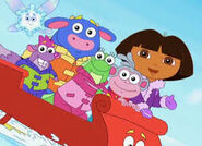 Dora saves the snow prncess
