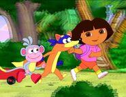 Dora boot swiper by fucciflakes-d5gta4m