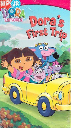 Dora the Explorer Dora's First Trip VHS