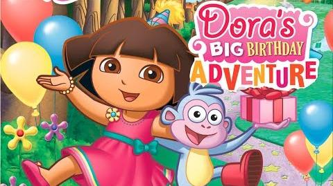 Dora The Explorer Dora's Big Birthday Adventure Full Movie Game HD