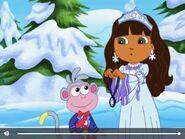 Dora The Explorer Boots and Snow Princess