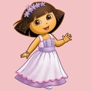 Wedding dress dora