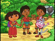 Dora,Boots, Mayan Boys