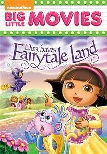 Dora Saves Fairytale Land Dvd