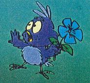 Baby blue bird pilot