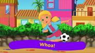 Soccer kick alana