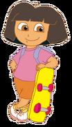Dora with Skateboard 6