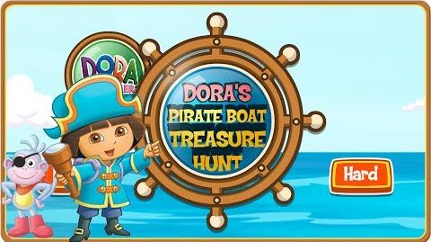 Dora The Explorer Dora's Pirate Boat Treasure Hunt Full HD
