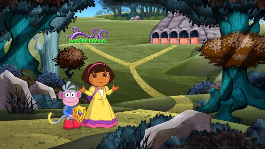 dora saves fairytale land