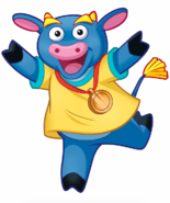 Dora the Explorer Benny the Bull Nickelodeon Nick Jr. Noggin Character Image 3
