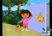 Dora at the gate