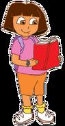 Dora with Book