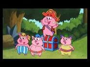 Pirate Piggies with the Treasure