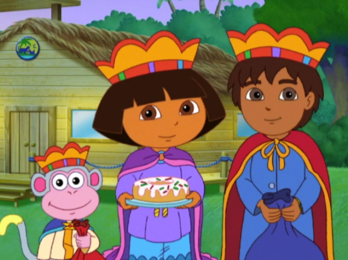 Dora Saves Three Kings Day Dora The Explorer Wiki Fandom Powered