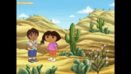 Dora and Diego in the Desert