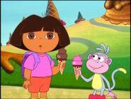 Dora the explorer we all scream for ice cream yummy 2