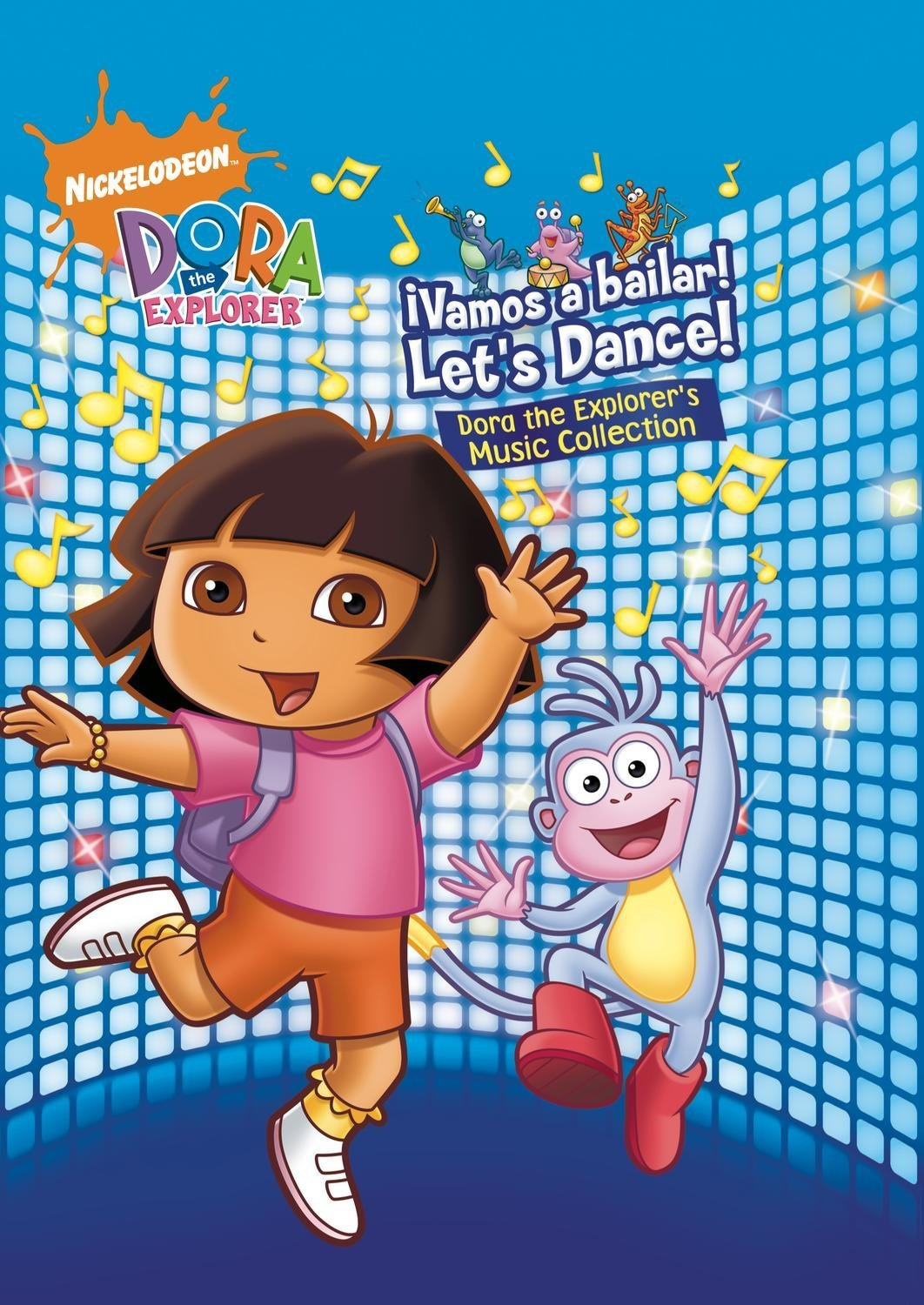 vamos a bailar  let u0026 39 s dance  the dora the explorer music collection
