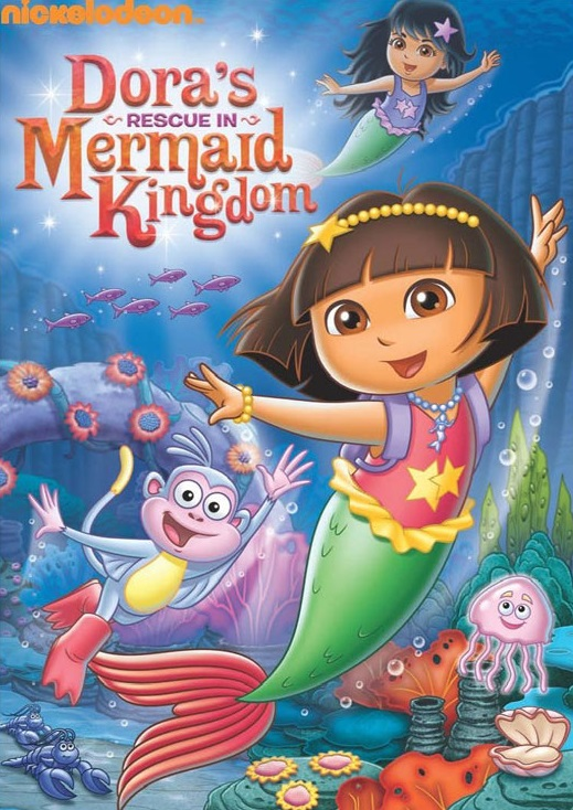 Dora S Rescue In Mermaid Kingdom Dvd Dora The Explorer