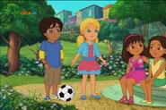 Dance Party Dora, Alana, Pablo and Celia