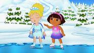 Dora being caring