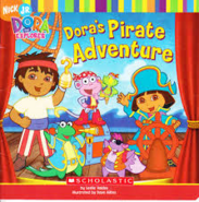 Dora Pirate Adventure Book