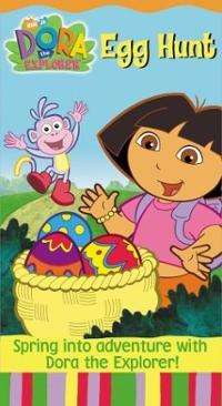 Dora-explorer-egg-hunt-kathleen-herles-vhs-cover-art