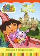 Dora the Explorer City of Lost Toys DVD