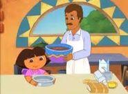 Baking with papi