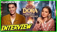 DORA AND THE LOST CITY OF GOLD Isabela Moner & Jeff Wahlberg talk about the movie