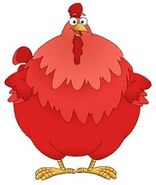 Dora the Explorer Big Red Chicken Character Nickelodeon Nick Jr