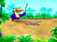 Dora-Senor-Tucan-with-twigs
