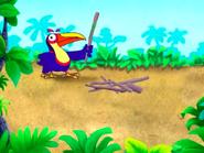 Dora-Senor-Tucan-with-twigs