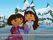 Dora The Explorer Dora and the snow princess