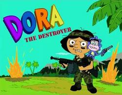 Futurama - Dora the Destroyer