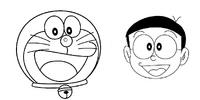 Doraemon Nobita face
