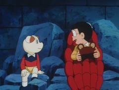 Chippo talking Nobita
