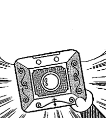 Projection Camera in manga