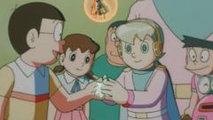 Nobita trả Quả thần cho Rian