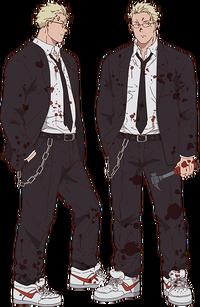 Shin anime design